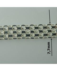 Łańcuch srebrny M/BIS-1/AG z metra