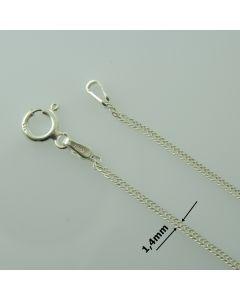 Łańcuch gotowy srebrny PANCER Ag925 typ:DD030/AG
