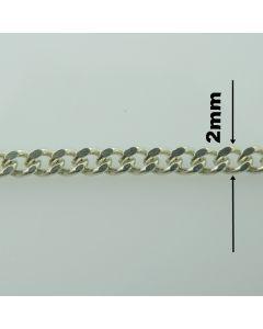 Łańcuch srebrny M/GD060 z metra-PANCER