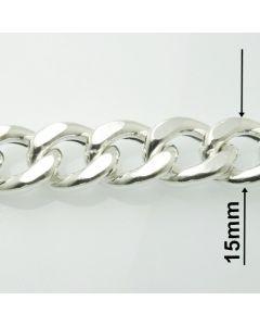 Łańcuch srebrny M/HOLL-3/AG z metra