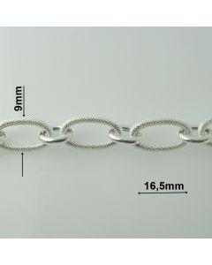 Łańcuch srebrny M/HOLL-12/AG z metra