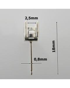 Sztyft srebrny Ag925 typ S/SZT-H1/2,5